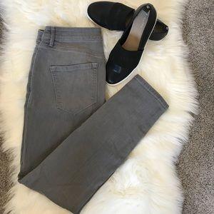 [LOFT] Gray Curvy Skinny Jeans 29/8